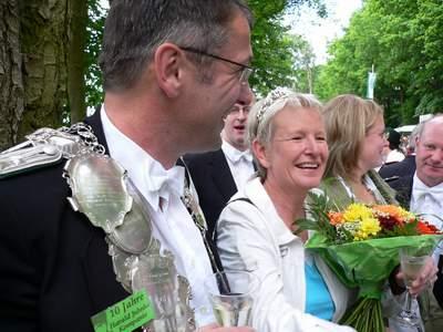 Ehrung durch den Bürgermeister der Stadt Heiner Theßeling!