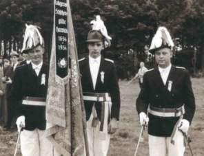 Fahnenoffiziere 1954