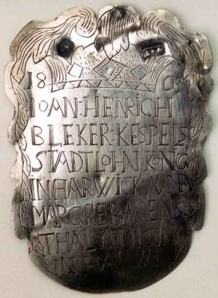 Kespels Stadtlohn, König in Harwick