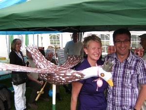 Das Köningspaar 'Martin & Annette' mit dem neuen Vogel