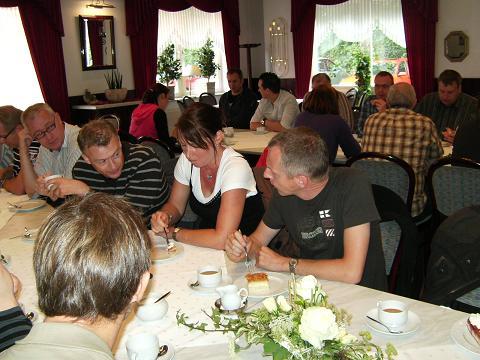 Kaffeepause in der Gaststätte Zum Breul
