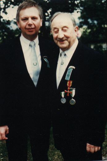 Ewald Koller und Theo Wessendorf