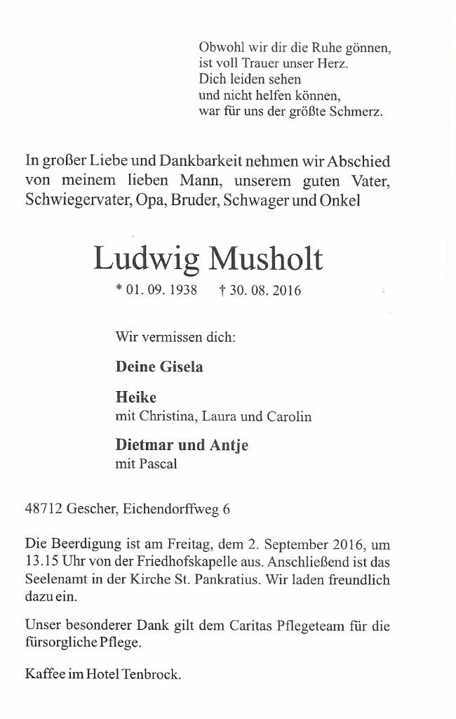 Ludwig Musholt