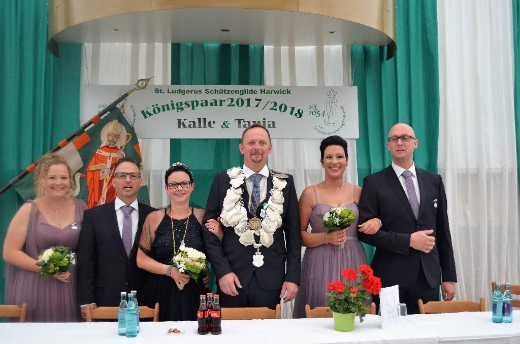 Königspaar 2017 Kalle & Tanja